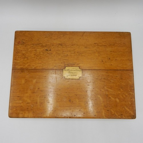 1883 masonic tool box