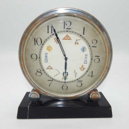 c. 1900 round table clock
