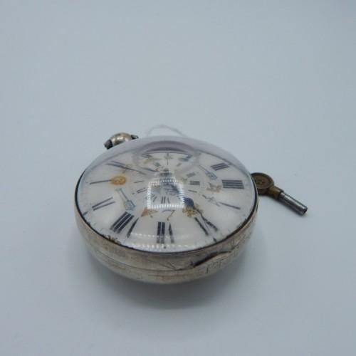 c. 1800 silver pocketwatch nr 5