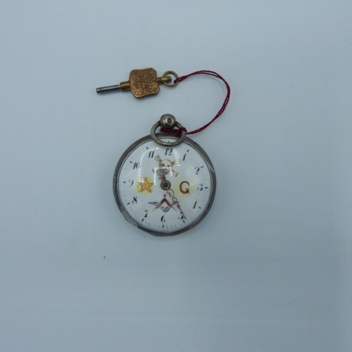 masonic pocketwatch nr 8