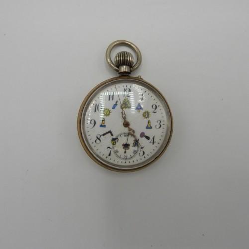 masonic pocket watch nr 10