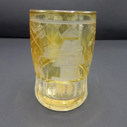 c. 1850-75 Bohemian glass no 17