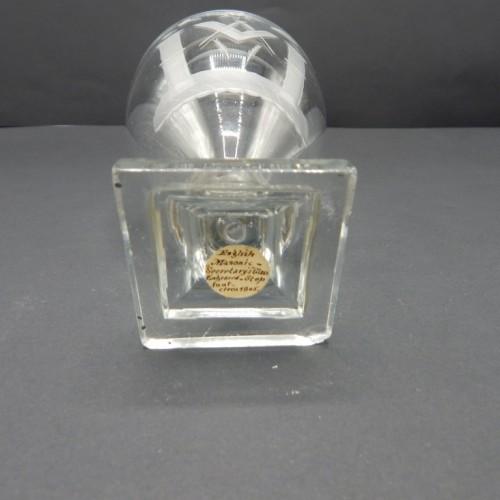 c. 1790 English secretary crystal glass no 24