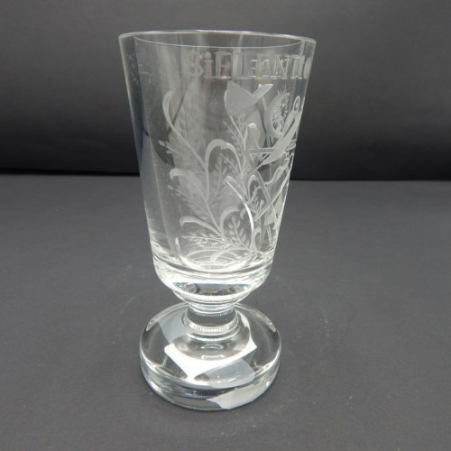 early 20th century glass Silentio de Fiede nr 19