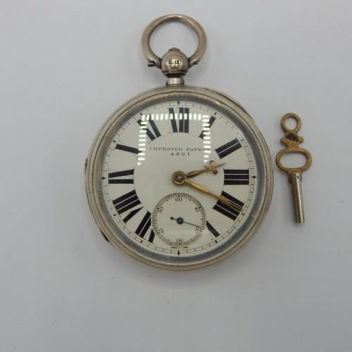 zilveren zakhorloge c. 1870  nr 11