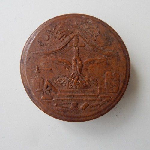 tobacco box-snuff box 5 rose cross degree