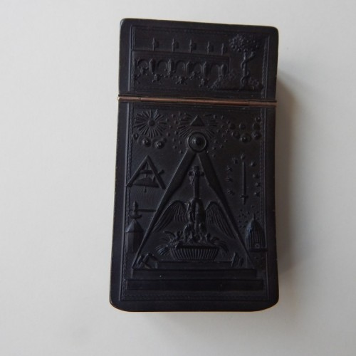 tobacco box-snuff box 6 rose cross degree