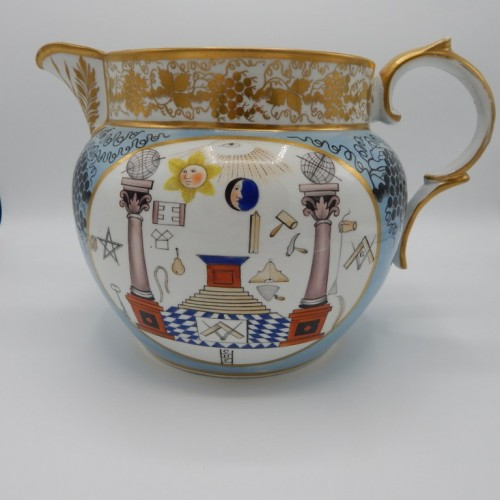 1816 large colorful water jug