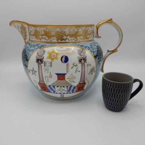1816 large colorful water jug