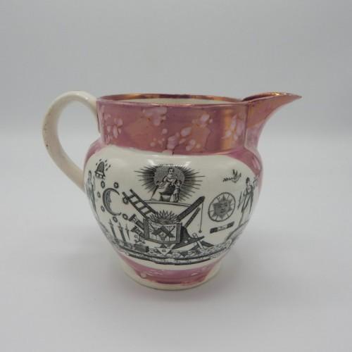 c. 1820 smal waterjug Sunderland