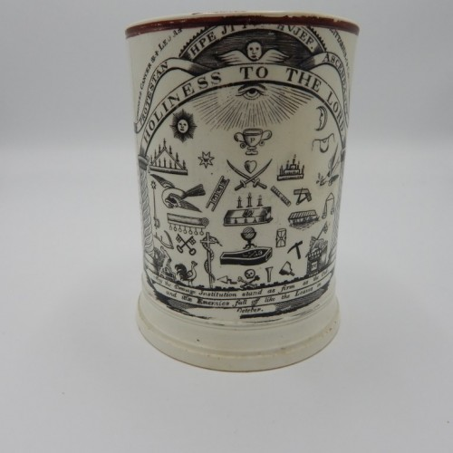 large English cup early 19th century