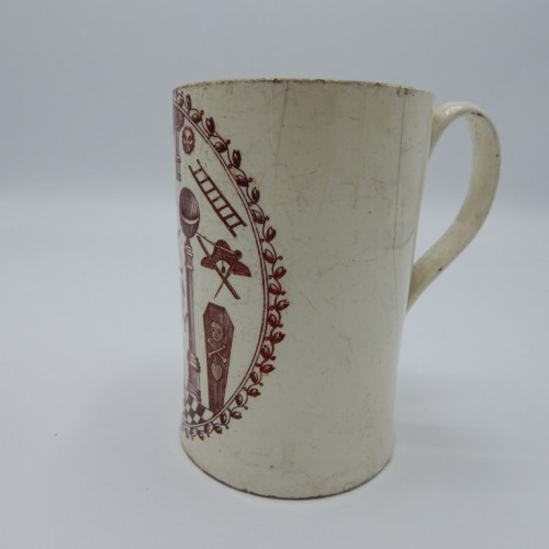 French cup at the end of the 18th century