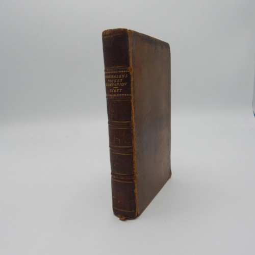 1759 the PocketCompanion and History of Free-masons