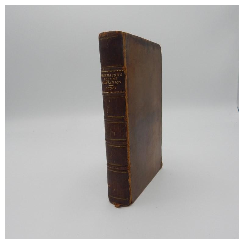 1759 the PocketCompanion and History of Free-masons
