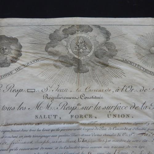 1820 La Concorde Mons