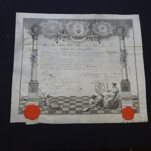1820 Loge L'Esperance Brussel