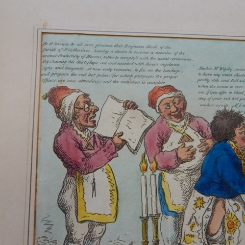 1807 making a Sailor a Free mason