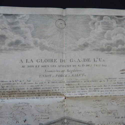 1821 Loge St Jean Liege