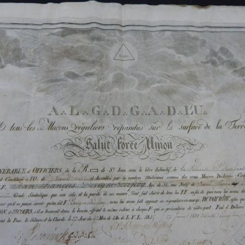 1835 La Felicite Bien Faisante Gent Gand