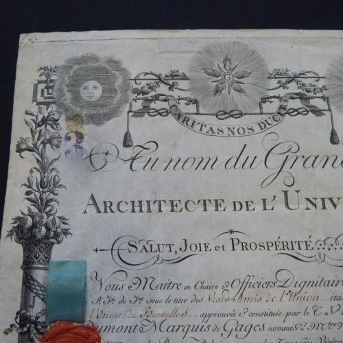 1799 Les Vrais Amis de L'Union Brussel