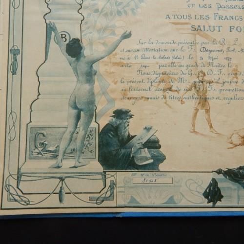 1879  Independence et Progres  Calais
