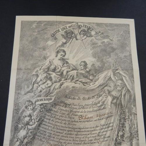 1900 loge L'Etoille du Progres Bordeaux
