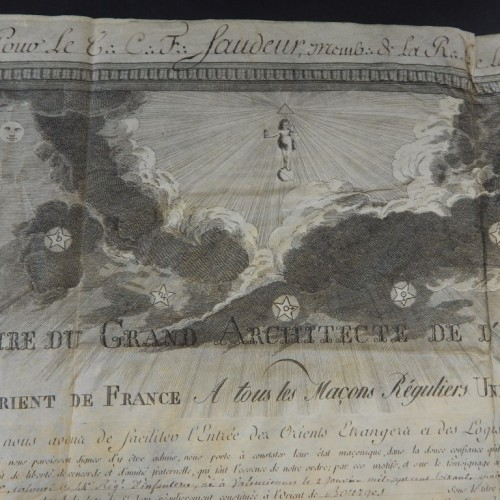1804 loge La Liberte Bourgse