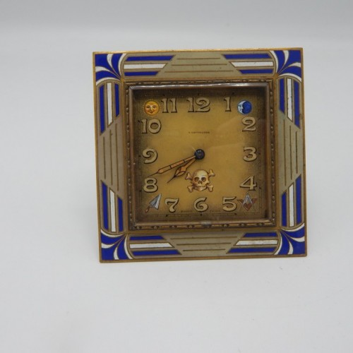 tabelclock A. lecoultre  Switserland