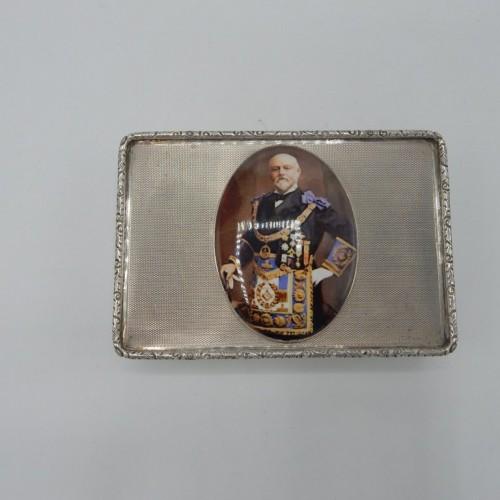 silver enameled snuff box 1934 nr 17