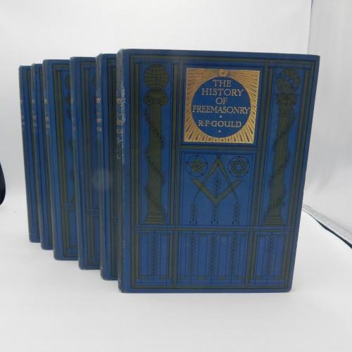 c. 1890 Gould's history of Freemasonry 6 vol. complete