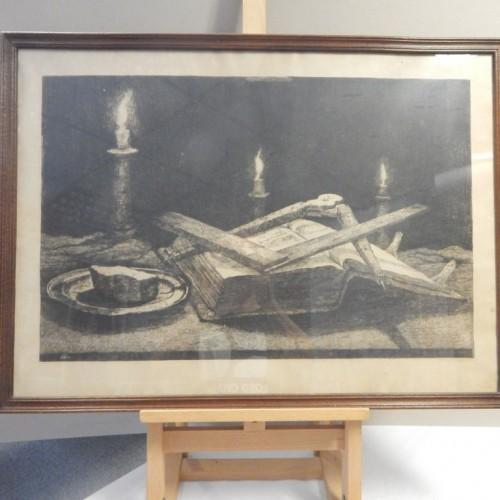 Ets Jan Sirks 1930 gesigneerd