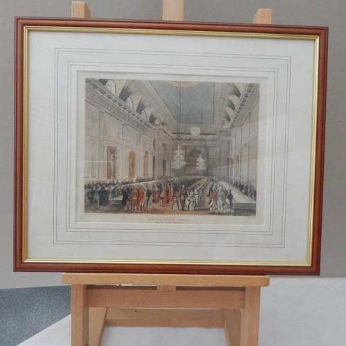 engraving Freemasons Hall Great Queen street London