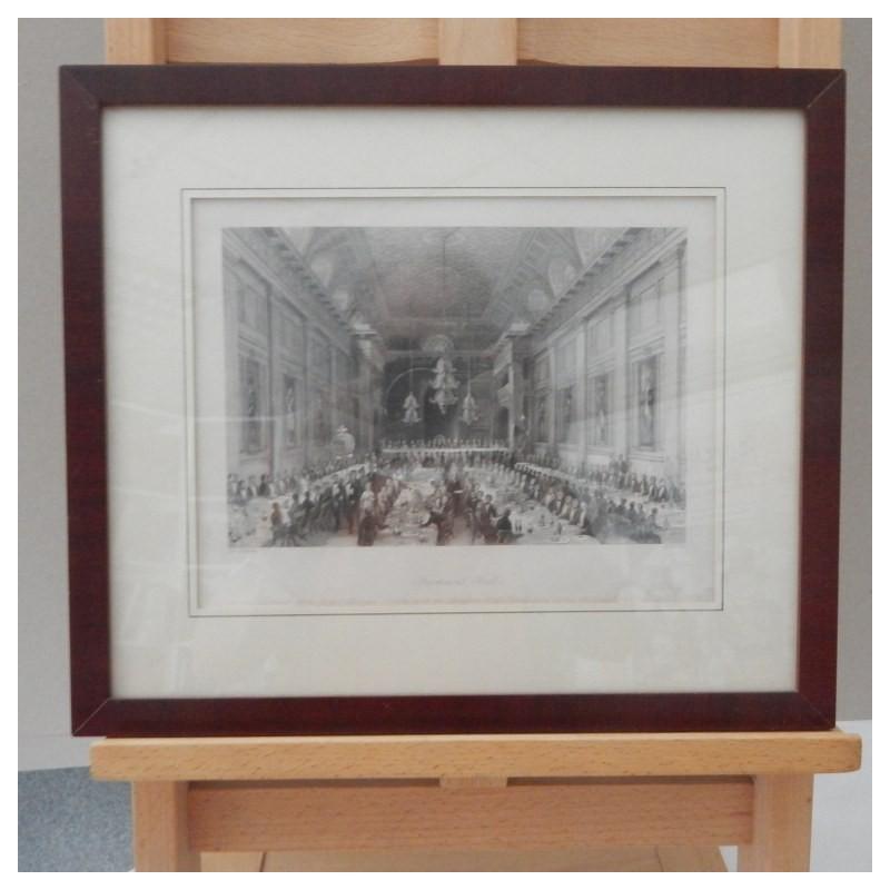 engraving Freemasons Hall