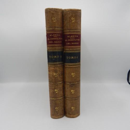 El Consultor del Mason 1883 2 vol. folio