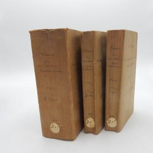 Die Altesten Kunsturkunden der Freimaurer bruderschaft 1819/21