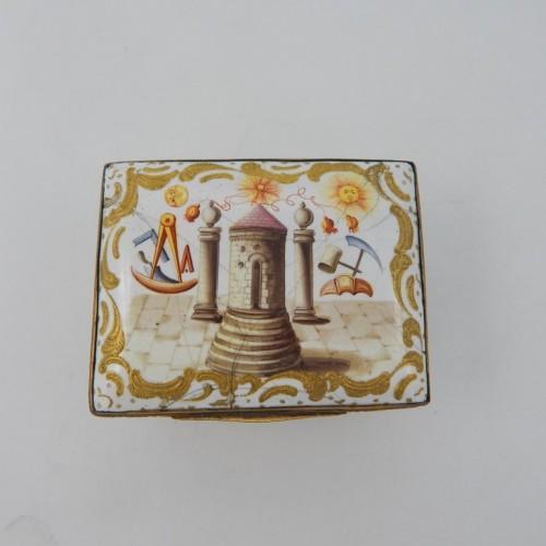 Snuff box  BIrmingham c. 1750