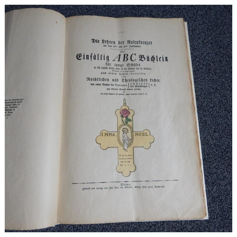 Geheime Figuren der Rosenkreuzer aus dem 16ten und 17ten Jahrhundert