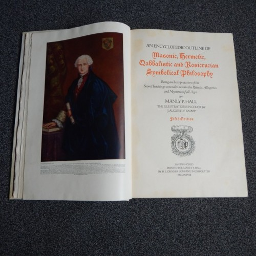 the secret teachings of all ages 1928 Manly P. Hall