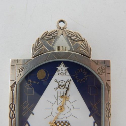 "Masonic AASR Watch ""Tablier"""