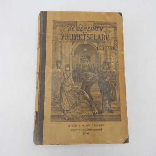 1890 De Geheimen der vrijmetselarij door Leo Taxil