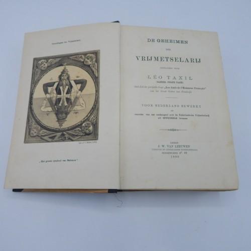 1890 De geheimen der vrijmetselarij leo Taxil