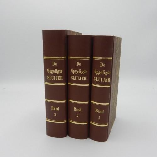 1827 De Opgeligte sluijer, of, geschiedenis der vrijmetselarij, van haren oorsprong tot op onze dagen