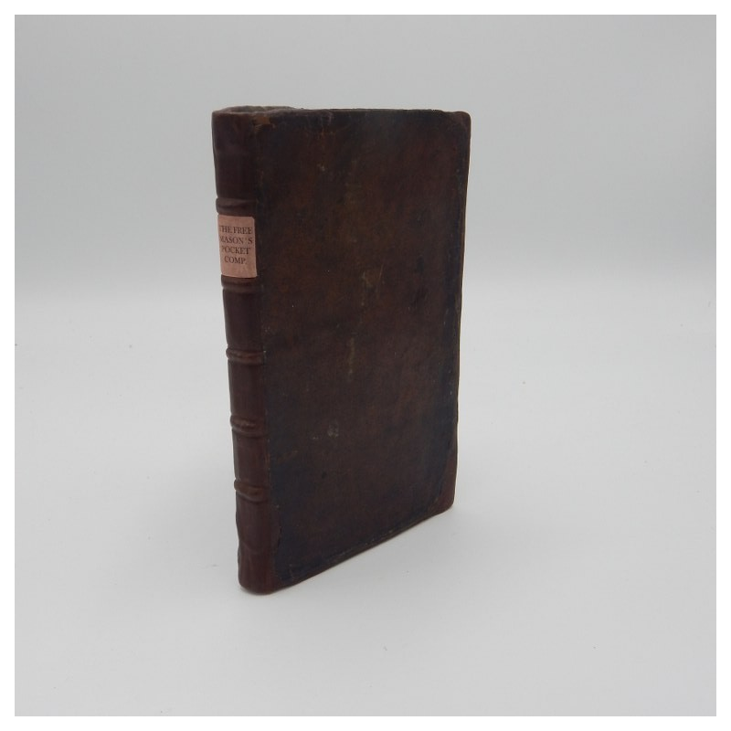 1738 The Free Mason's Pocket Companion