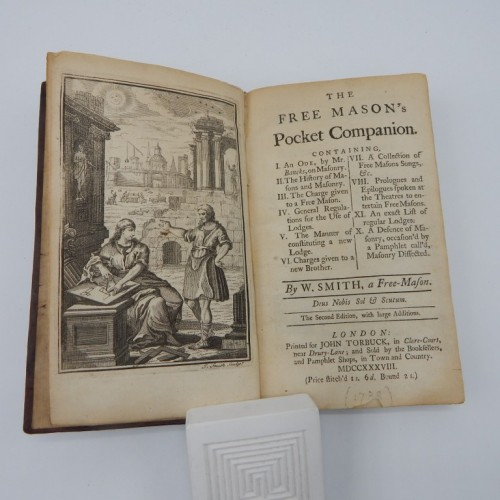 1738 The Free Mason's Pocket Companion