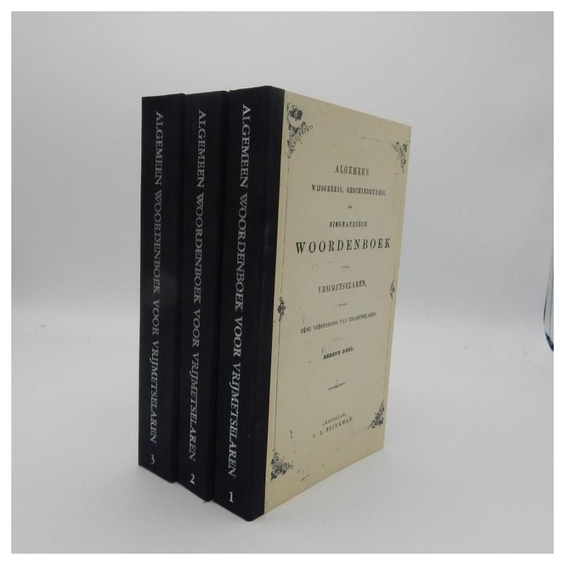 1844 Algemeen wijsgerig, geschiedkundig woordenboek voor vrijmetselaren
