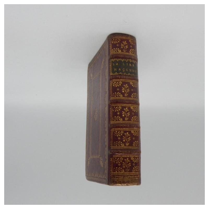 1775 La Lire Macon ou recueil de chansons des Francs-macons