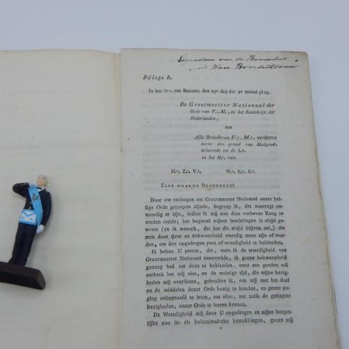 1819 ritualen afdeling van de meestergraad